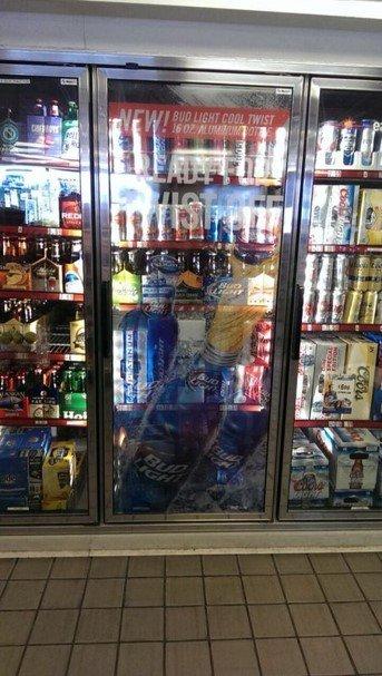 Budweiser-cooler-door-wrap