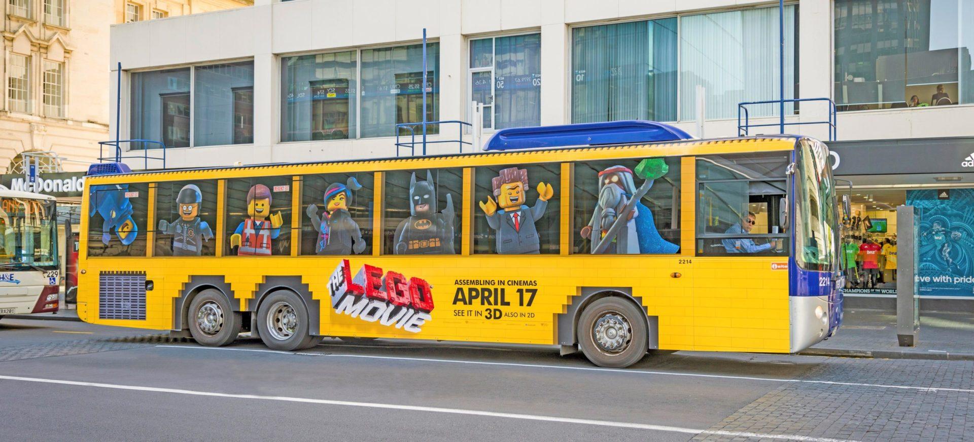 Lego Total Bus Wrap