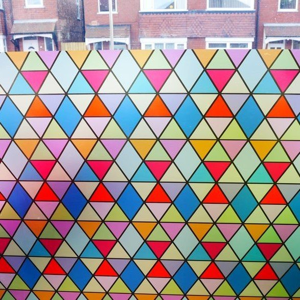 Stained Glass Geometric1