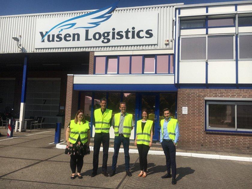 European Warehouse Expansion Yusen Logistics contravision